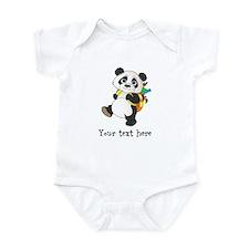 Personalize It - Panda Bear backpack Infant Bodysu