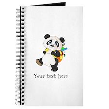 Personalize It - Panda Bear backpack Journal