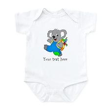 Personalize it - Koala Bear with backpack Onesie