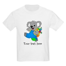 Personalize it - Koala Bear with backpack T-Shirt