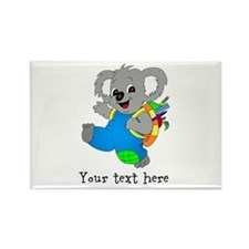 Personalize it - Koala Bear with backpack Rectangl