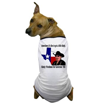 Texas Governor '06 Dog T-Shirt
