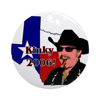 Texas Governor '06 Ornament (Round)