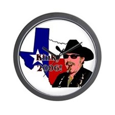 Texas Governor '06 Wall Clock