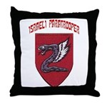 Israeli Paratrooper Throw Pillow