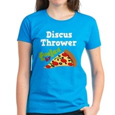 Discus Thrower Pizza Tee