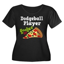 Dodgeball Player Pizza T