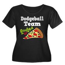 Dodgeball Team Pizza T