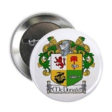 McDonald Coat of Arms Button Pins (10 pack)