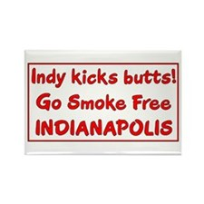 Indy kicks butts! Rectangle Magnet (100 pack)