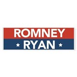 Romney Ryan America's Comeback Team Car Sticker