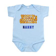 World's Greatest Nanny Infant Bodysuit