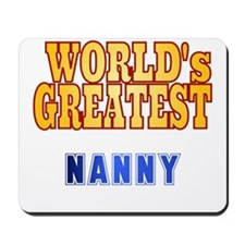 World's Greatest Nanny Mousepad