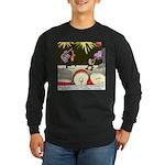 Good Investment Long Sleeve Dark T-Shirt