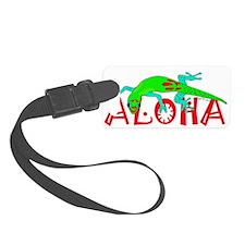 Gecko Aloha Luggage Tag