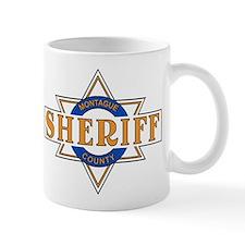 Sheriff Buford T Justice Door Emblem Small Mug