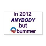 anybody but obummer.png Rectangle Car Magnet