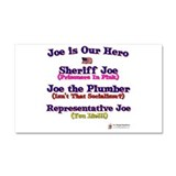 Joe is our Hero.png Car Magnet 20 x 12