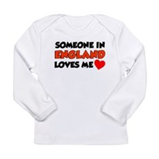 Someone In England Loves Me Long Sleeve Infant T-S