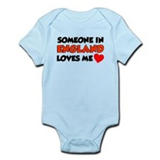 Someone In England Loves Me Infant Bodysuit