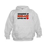 Someone In England Loves Me Hoodie