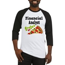 Financial Advisor Pizza Baseball Jersey