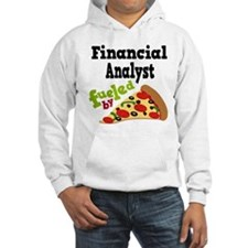 Financial Analyst Pizza Hoodie