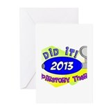 RT I did it 2013.PNG Greeting Cards (Pk of 10)