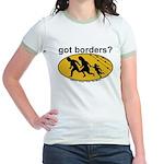 Got Borders? Anti Illegals Jr. Ringer T-Shirt