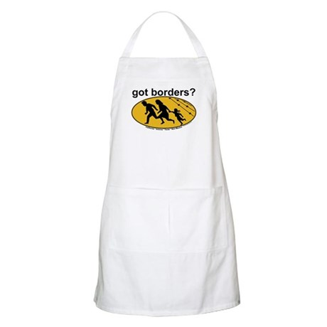 Got Borders? Anti Illegals BBQ Apron