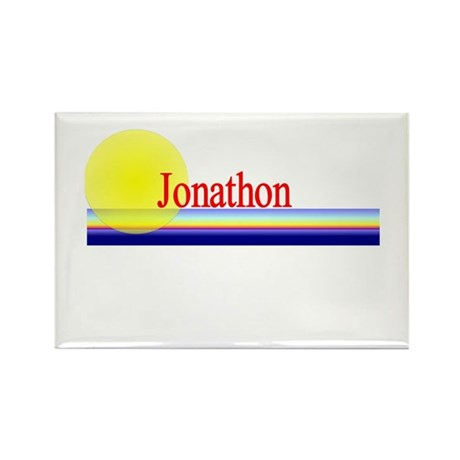 Jonathon Rectangle Magnet (100 pack)