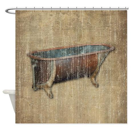 Antique Bathtub Shower Curtain By Iloveyou1