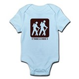 Cute Power walk Infant Bodysuit