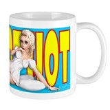 PINUP MUG - Hot Hot Hot (Natasha - 'Nighty Night')