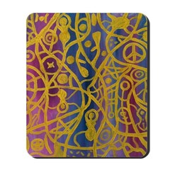 Goddess Spiderweb Mousepad