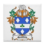 Griffith Coat of Arms, Family Tile Coaster