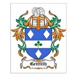 Griffith Coat of Arms, Family Small Poster