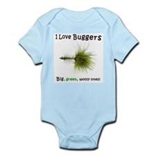 Unique Flyfishing Infant Bodysuit