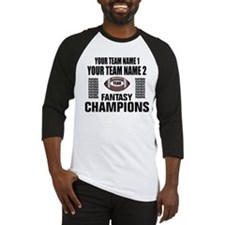 YOUR TEAM FANTASY CHAMPIONS Baseball Jersey
