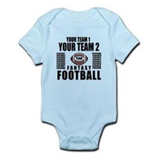 YOUR TEAM FANTASY FOOTBALL PERSONALIZED Infant Bod