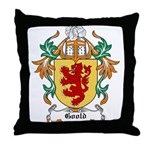 Goold Coat of Arms Throw Pillow