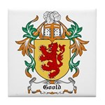 Goold Coat of Arms Tile Coaster