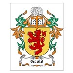 Goold Coat of Arms Small Poster