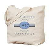 Authentic Original 1947 Tote Bag