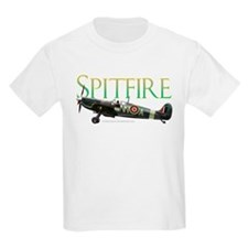 Spitfire drawing on T-Shirt