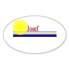 Josef Oval Decal