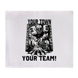 Customizable Defense Throw Blanket