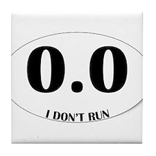 Anti-Marathon Sticker Tile Coaster