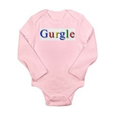 Unique Google Long Sleeve Infant Bodysuit