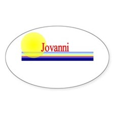 Jovanni Oval Decal